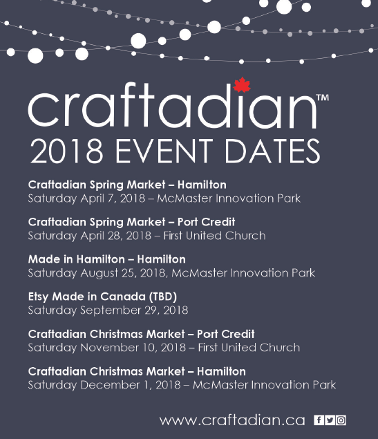 Hamilton Ontario Craft Shows