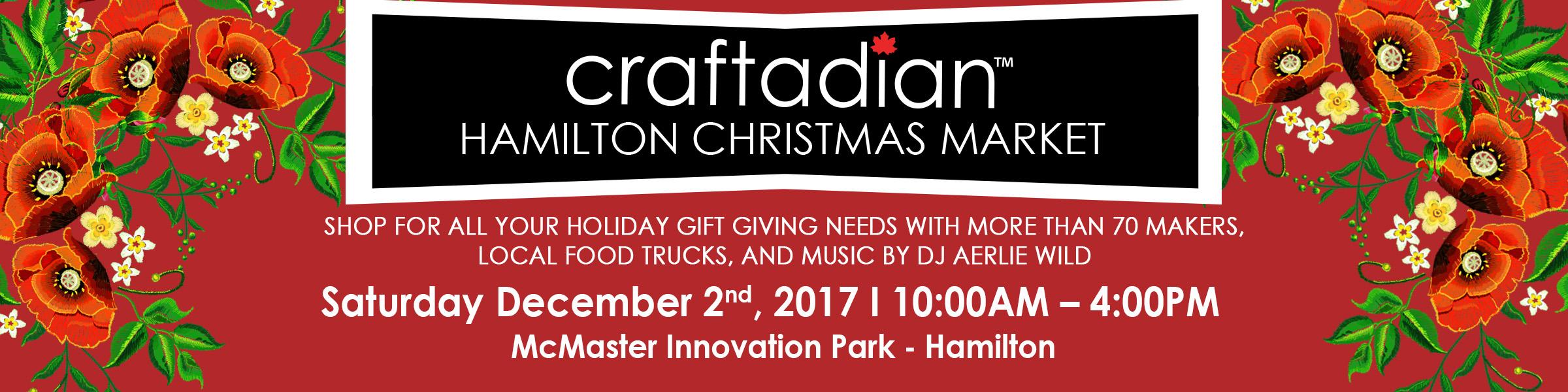 Hamilton Christmas Market.Craftadian Hamilton Craftadian Christmas
