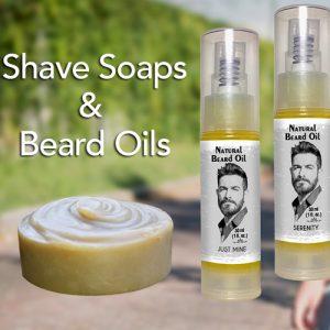 Natural Shaving Soap & Beard Oils