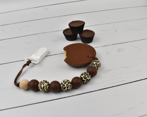 Peanut Butter Cup Baby Teether