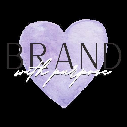 Brand with Purpose logo design