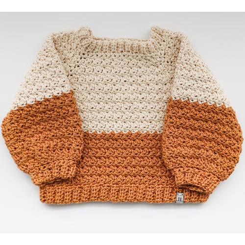 Seamus Sweater - 6-12 mo & 1-2 yrs. - 100% Cotton