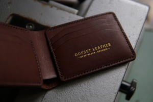 Gusset Leather