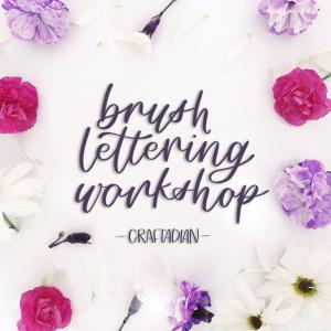 2pm: Brush Lettering hosted by Designed by Cassia